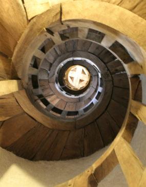Escalier en vis © OT Val de Sioule
