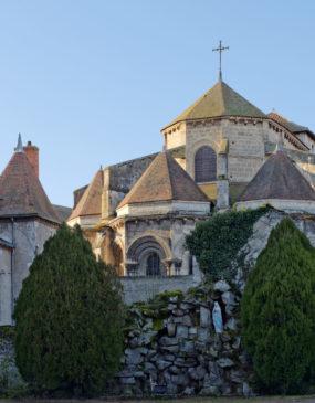 Abbatiale Saint-Léger © G. Jousse