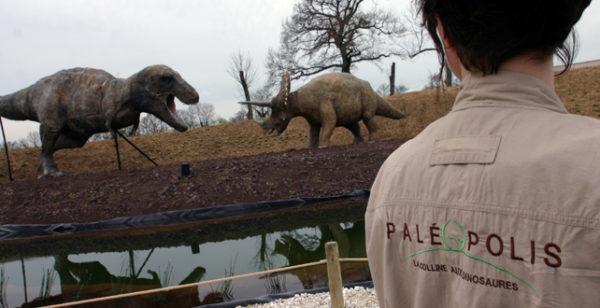 La vallée des dinosaures © Paléopolis