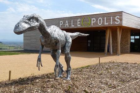 Entrée du Parc © Paléopolis