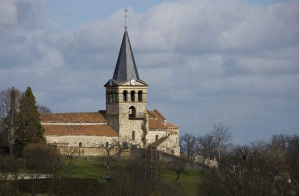 Église de Brout-Vernet © Jérôme Mondière - CDT Allier