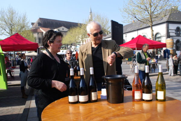 Dégustation des vins © OT Val de Sioule