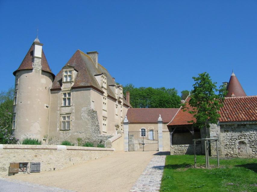 Château de Chareil © OT Val de Sioule