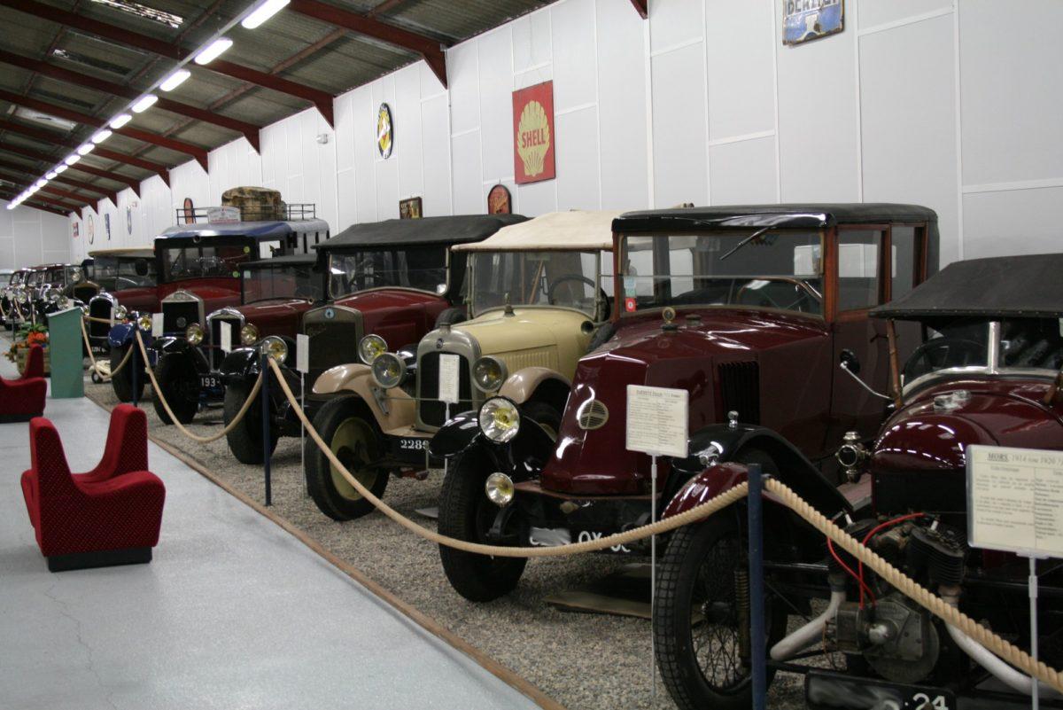 Musée de l'Automobile à Bellenaves © OT Val de Sioule