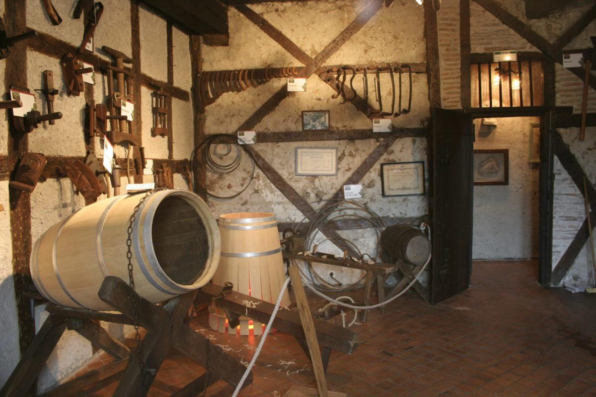 Musée de la Vigne et du Terroir © OT Val de Sioule