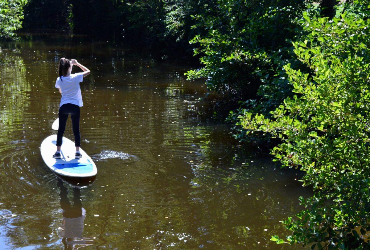 Paddle sur le Sioule © OT Val de Sioule