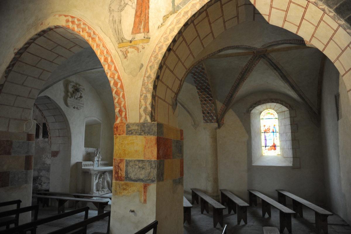 La Route des Églises Peintes © J. Mondière