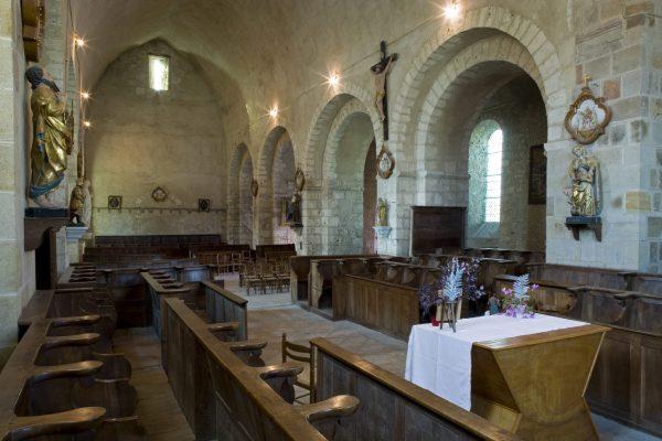Église de Verneuil-en-Bourbonnais © J. Mondière - CDT Allier